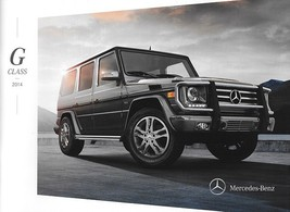 2014 Mercedes-Benz G-CLASS brochure catalog US 14 550 63 AMG - $15.00