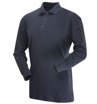 Tru Spec Mens 24 7 Series Polo Size XS Navy Blue Long Sleeve Tactical Shirt - $16.62