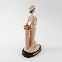 Marlo Collection by Artmark Lady Figurine Cup in hand Standing on Step image 5