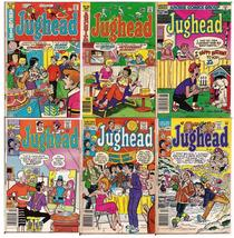 Archie Comics Jughead Lot Issues #249,256,334,349 V2 # 6,10 Betty Veronica  - $5.95