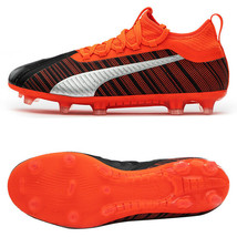 Puma ONE 5.2 FG/AG Football Shoes Soccer Cleats Boots Orange 10561801 - $119.99+