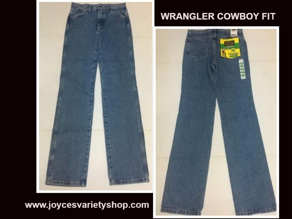 Wrangler cowboy jeans web collage