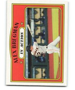 2021 Topps Heritage #164 Alex Bregman NM-MT Astros In Action - $0.99