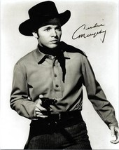 AUDIE MURPHY Signed Autographed  Photo w/COA - 97 - $195.00