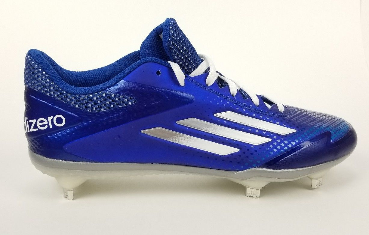 reputable site 15a70 1faa0 S l1600. S l1600. Previous. Adidas ADIZERO Afterburner 2.0 S84702 Baseball  Metal Cleats Sz 10 Blue.