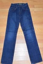 Gap Kids 1969 Straight Leg Jeans 12S 12 S Slim Adjustable Waist - $9.99