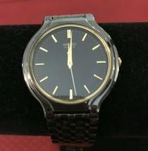 Seiko Quartz Black Unisex Watch V701-1K20 - $46.65