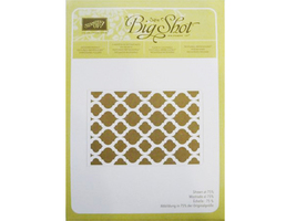 Stampin' Up! Textured Impressions Embossing Folder Modern Mosaic #129984 - $4.99