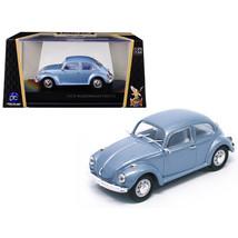 1972 Volkswagen Beetle Metallic Blue 1/43 Diecast Model Car by Road Signature... - $35.19