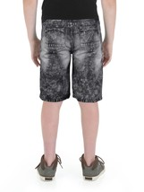 RS Boys Juniors Kids Distressed Ripped Destroyed Denim Jean Shorts image 2