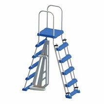 Swimline Above Ground Pool A Frame Ladder with Barrier for 48 Inch Pools... - $118.33