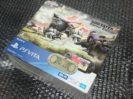 SALE PlayStation Vita Wi-Fi Console GOD EATER 2 Fenrir Edition - $259.97 CAD
