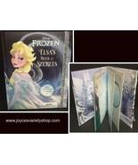 Elsa's Book of Secrets Royal Diary Frozen - $7.99