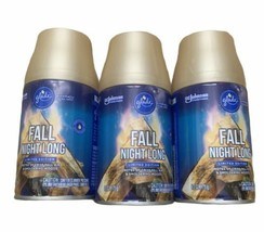 Lot Of 3 Glade - Fall Night Long - Automatic Spray Refill - 6.2 oz each ... - $39.59