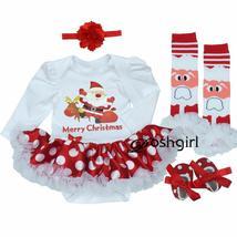 Exquisite baby girl dress jumper suit+footwear+socks+hairband - $19.99