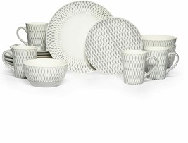 Gourmet Basics by Mikasa Aurora Dinnerware, Mugs, Plates, Bowls ++++ NEW - $8.99+