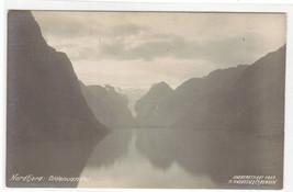 Oldenvandet Nordfjord Norway RPPC Real Photo postcard - $6.93