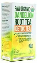 Kiss Me Organics Dandelion Detox Tea – Premium Organic Raw Dandelion Root Dig... - $22.99
