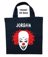 Pennywise Trick or Treat Bag, Personalized It Halloween Bag, Pennywise L... - $11.99+