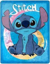 Stitch Ohana Summer 40 x 50 Silk Touch Throw blanket measures 40 x 50 in... - $16.78