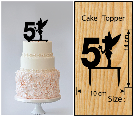 5th Birthday Anniversary Cake TopperCupcake And 36 Similar Items