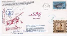 OFFICIALLY FLOWN MODEL AIR MAIL TRIPLE AUTOGRAPH BURLINGTON WI 7/7/69 #2... - $8.58