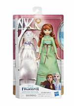 Disney Frozen II 2 Arendelle Fashions Anna Doll  2 Outfits - $17.59