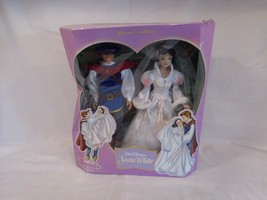 Disney Snow White and Prince Wedding Gift Set Special Edition 2005 New i... - $181.02