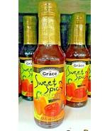 Grace Sweet & Spicy Hot Pepper Sauce 142mL - $8.00
