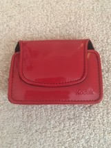 Kodak EASYSHARE Digital Camera Case Chic Patent Leatherette Red - $9.74