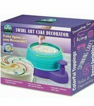 Swirl Art Cake Decorator All in One Bake and Decorate Kit Includes Silic... - $18.81