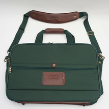 Samsonite Carry-On Shoulder Bag in Green Nylon w/brown accents. Free Shipping! - $38.69