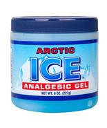ARCTIC ICE ANALGESIC GEL MENTHOL SORE MUSCLE ACHE RUB PAIN RELIEF 8 OZ JAR - $3.55