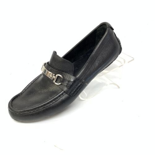 Cole Haan Mens Horse Bit Pebble Grain Leather Casual Loafers Sz 9M (SH-104) image 4