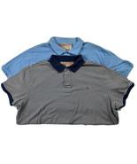 VTG Polo Jeans Polo Shirt Size 2XL 2pc Lot Blue Ralph Lauren - $29.69