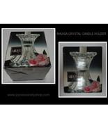 "Mikasa Crystal Candle Holder NIB 5"" - $14.99"