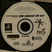 Squaresoft 1998 Collectors CD (Final Fantasy, Xenogears) for PlayStation One - $18.76
