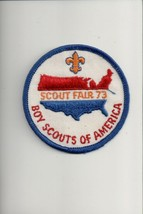 1973 Boy Scouts of America Scout Fair patch - $5.94