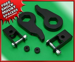 "1-3"" Front Steel Lift Kit w/ Shock Ext for 00-07 Silverado Sierra 1500 4... - $90.00"
