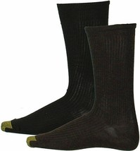 Gold Toe Mens 4 Pack Midweight Socks Brown Size 10-13 - $20 - NWT - $9.49