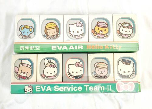 EVA AIR Sanrio Hello Kitty Service Team Figure Lot - EMPTY BOX ONLY BOXES EMPTY-
