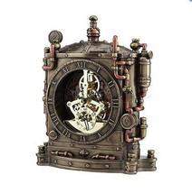 STEAMPUNK GRAND MACHINE MANTEL CLOCK VERONESE (WU77170A4) - $107.91