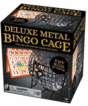 Deluxe BINGO Cage with Ball Selector Balls Master Card 150 Markers New 1... - $14.84