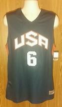 HYPER ELITE 3.0 JERSEY Nike Team USA Olympics Basketball Sewn #6 Mens L ... - €32,00 EUR