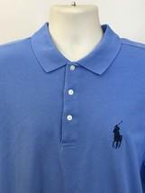 Ralph Lauren Polo Golf Men's Short Sleeve Blue Big Pony Polo Golf Shirt XL - $22.99