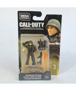 CALL OF DUTY Incedendiary Soldier FVF95 Series 3 MEGA CONSTRUX FLAMETHROWER - $12.86