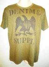 RALPH LAUREN - POLO - RL - LARGE - D&S - EAGLE - ARMY - GREEN - T-SHIRT ... - $33.29