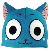 Fairy Tail Happy Fleece Cap GE32197 *NEW* - $19.99