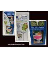 O2Cool Magnetic Beverage Stake & Koozie NIB - $10.99