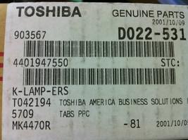 Toshiba 4401947550 K-Lamp-ERS assembly 4560  - $9.85